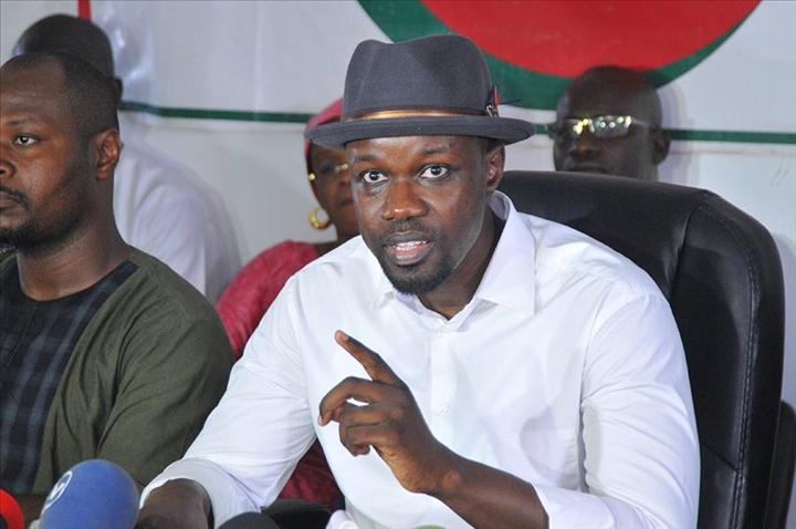 Ousmane Sonko : «Le blanchiment d'escrocs publics existe à l'Assemblée nationale»