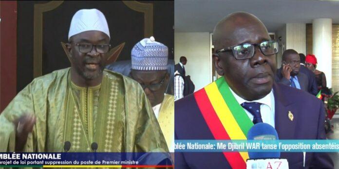 Djibril War et Cissé Lo se crêpent le chignon à l'Assemblée nationale