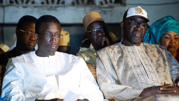 Amadou Bâ s'éloigne de Cissé Lo