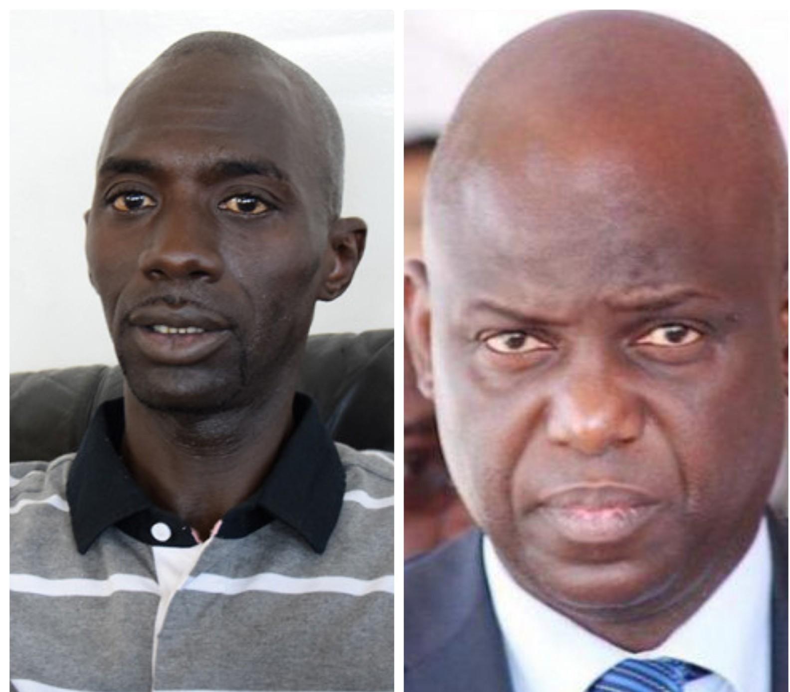 Oumar Faye, leraal askanwi, devant les enquêteurs de la Brigade de recherches de Dakar