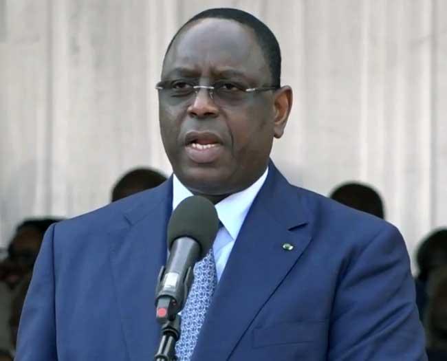 Discours du Président Macky Sall