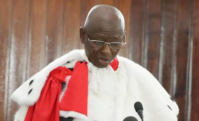Cheikh Tidiane Coulibaly, Premier Président de la Cour suprême