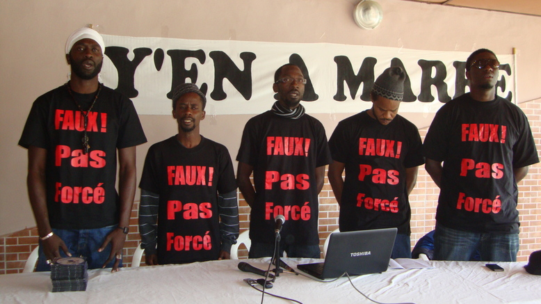 Y en a Marre et Cie réclament la libération de «l'otage» Boubacar Sèye