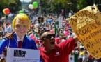 Mexique : Des milliers de personnes dans la rue contre Trump