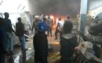 Urgent: violent incendie à Ouakam