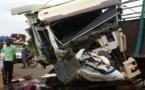 Collision entre un bus et un camion, à hauteur de Sandiara : l'accident fait 2 morts et 7 blessés