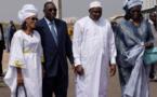 Adama Barrow est arrivé à Dakar