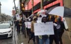 Les Sénégalais de Montréal ont aussi marché pour dénoncer le régime du président Sall