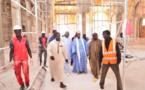 Serigne Bass visite les chantiers de la mosquée Massalikoul Jinane