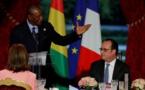 """Alpha Condé à François Hollande: """"L'Afrique est majeure, elle va prendre son destin en main"""""""
