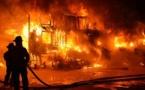 """Vidéo : Revivez le terrible incendie qui s'est déclaré au """"Daaka"""""""