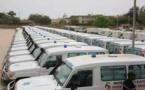 Le Ministère de la Santé et de l'Action sociale a acquis 162 ambulances médicalisées
