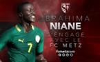 OFFICIEL: Ibrahima Niane rejoint le Fc Metz