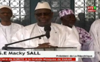 """Vidéo- Macky Sall à propos des deux Korités : """"Ce n'est pas une affaire de l'Etat..."""""""