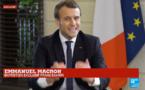 """Emmanuel Macron à France 24 : """"Nous devons conduire une action policière renforcée"""" en Libye"""
