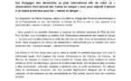 Le Conseil de Paris soutient les maire en danger dans le monde