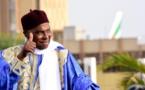 Le Président Abdoulaye Wade à Dakar le jeudi 7 février