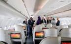 Macky Sall à bord du vol d'Air Sénégal