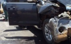 Mbilor : Le cortège du ministère des Transports fait un accident