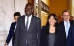 France : Khalifa Sall reçu par Anne Hidalgo, maire de Paris