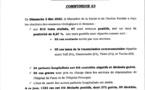 Covid-19 : Résultats des examens virologiques de ce dimanche 03 avril 2020