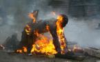 Cheikh Diop, l'homme brûlé par son fils, est décédé
