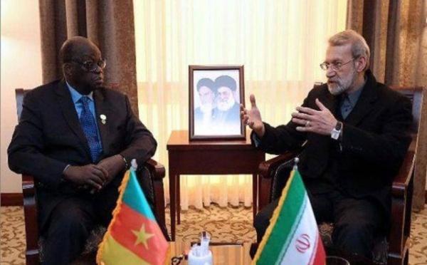 Insolite : Moustapha Niasse reçu en Iran avec un drapeau camerounais