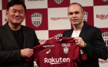 Andrés Iniesta signe au Vissel Kobe (Japon)