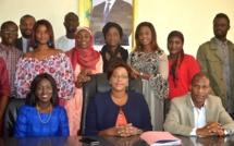 Néné Fatoumata Tall reçoit le YALI 2019 de l'ambassade des USA